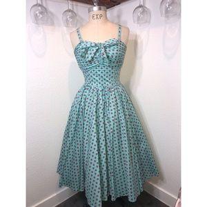 Unique Vintage strawberry swing dress 🍓